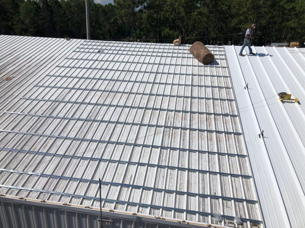 Re-Roofing (Retrofitting) Metal Roofs-Florida Metal Roofers of Hialeah